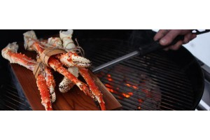 Cedar Planked King Crab Legs