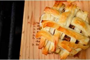 Apple Pie on a Cedar Plank