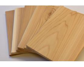 (Free w/$35 Order) 6 Variety 7x7 (2nds) - 2 Each Cedar, Alder, Maple