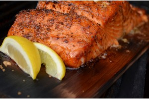 5-Ingredient Cedar Planked Salmon