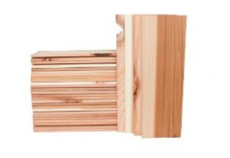 "Copper River Salmon 15"" Long Cedar  Planks 30 Pack"