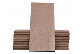 "Cherry Grill Planks 5""x11"" (2nds): 12 Pack"