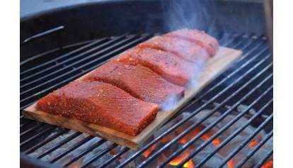 Cedar King Salmon 7x15 (2nds): 20 Pack