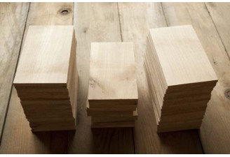 Restaurant Supply Alder Grilling Planks 50 Plate-Sized