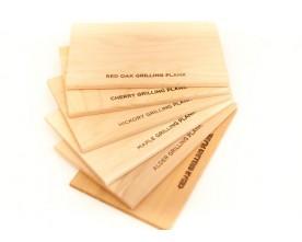 """Sampler Pack: 6 Flavor Grilling Planks 5x8"""""""