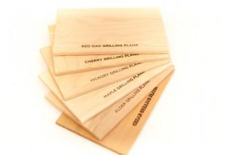 6 Flavor Medium Grilling Plank Sampler Pack